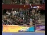 Эстонский гимнаст - улетел...